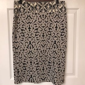 Pencil skirt w/ lots of stretch